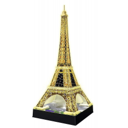 Chollo - Puzzle 3D Torre Eiffel Night Edition (47cm)