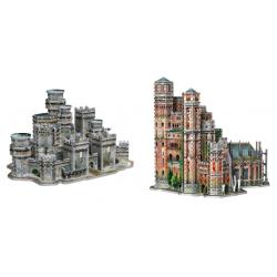 Chollo - Puzzles 3D Juego de Tronos de Wrebbit (Invernalia/La Fortaleza Roja)