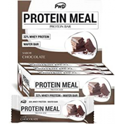 Chollo - Pwd Nutrition Protein Meal Chocolate Pack 12 Barritas
