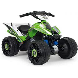 Chollo - Quad Eléctrico Injusa Kawasaki ATV 12V