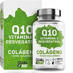 Chollo - Qualnat Colágeno marino Q10 Ácido hialurónico Resveratrol 90 cápsulas