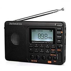 Radio Portátl Retekess V115 MP3