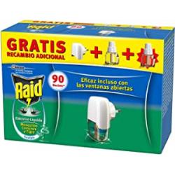 Chollo - Raid  Anti-insectos eléctrico líquido Difusor + 2 Recambios Eucalipto | J309472