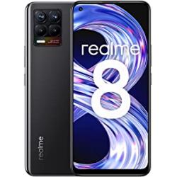 Chollo - realme 8 4GB 64GB Cyber Black | 6941399044531