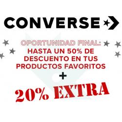 Chollo - Rebajas Converse hasta -50% + 20% Extra con cupón