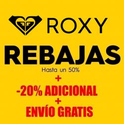 Chollo - Rebajas Roxy hasta -50% + Cupón -20% Extra + Envío Gratis