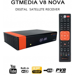 Chollo - Receptor de TV Digital Docooler GT Media V8 Nova con Wi-Fi