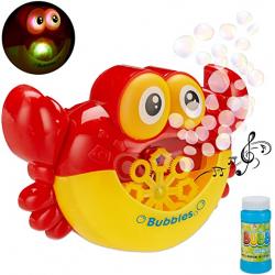 Chollo - Relaxdays Máquina de juguete para pompas de jabón   10027900
