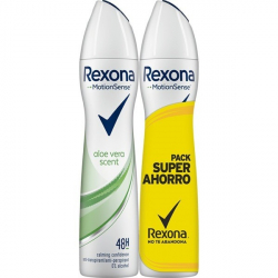 Chollo - Rexona MotionSense Aloe Vera Fresh desodorante antitranspirante 48h spray 2 x 200 ml