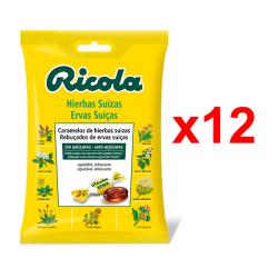 Chollo - Ricola Hierbas Suizas Caramelo duro Pack 12x 70g