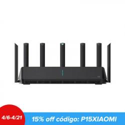 Chollo - Router Xiaomi Mi AIoT AX3600 WiFi 6 Gigabit 2976Mbps