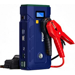Chollo - Rumia Arrancador de baterías 2000A + Powerbank 2000mAh | CJS02A-FR