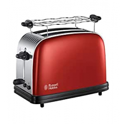 Chollo - Tostadora Russell Hobbs Colours Plus Flame Red