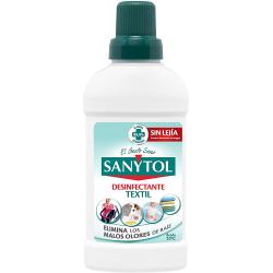 Sanytol Desinfectante textil sin lejía 500ml | 170030