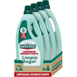 Chollo - Sanytol Limpiador desinfectante multiusos Pack 4x 1200ml