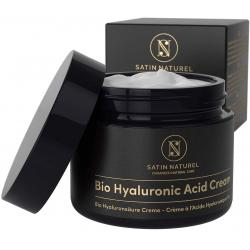Chollo - Satin Natures Crema facial orgánica con Ácido Hialurónico Puro