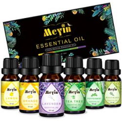 Chollo - Set 12 Aceites Esenciales Meyin (12x10ml)