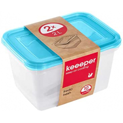 Chollo - Set 2 Fiambreras keeeper Fredo Fresh (2x2L)