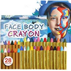 Chollo - Set 28 Pinturas Corporales/Faciales Uraqt