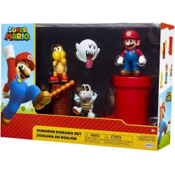 Chollo - Set 5 Figuras Mundo Dungeon Super Mario - Jakks Pacific 85989