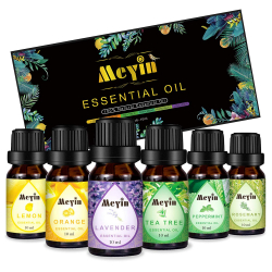 Chollo - Set 6 Aceites Esenciales Meyin (6x10ml)