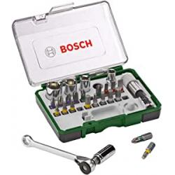 Chollo - Set de puntas de atornillar con carraca Bosch 27 piezas - 2607017160