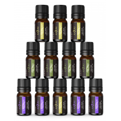 Chollo - Set de Aceites Esenciales Anjou 100% Puros (12x5ml)
