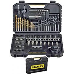 Chollo - Set de brocas y puntas Stanley STA7205-XJ 100 Piezas - 5035048377246