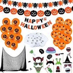 Chollo - Set Decoración de Halloween Cenove 65 Piezas