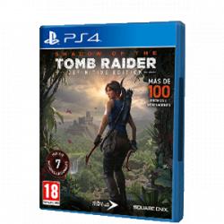 Chollo - Shadow of The Tomb Raider Definitive Edition | PS4 [Versión física]