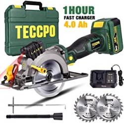 Chollo - Sierra Circular TECCPO TDMS22P 18V 4.0Ah 115mm