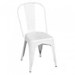 Chollo - Silla Lix metálica blanca