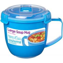 Chollo - Sistema Microwave Taza de sopa grande para microondas 900ml | 21141