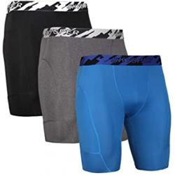 Chollo - Skysper Pantalón corto de compresión Pack 3x