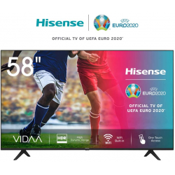 "Chollo - Smart TV 58"" Hisense 58AE7000F 4K UHD HDR+ Alexa"