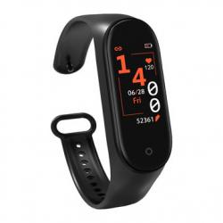 Chollo - Smartband Bakeey M4 (Pulsómetro/Presión Arterial/Calorías)