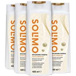 Chollo - Solimo Champú revitalizante Pack 4x 400ml | 60000877
