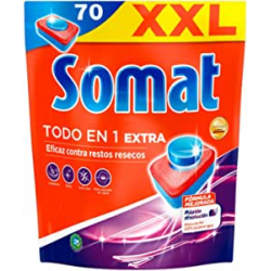 Chollo - Somat Todo en 1 Extra Pastillas para lavavajillas 70x