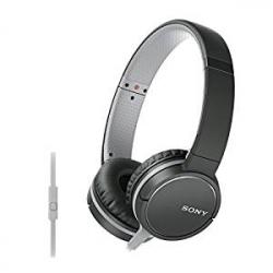 Sony MDR-ZX660AP - Auriculares supraurales de Diadema (con micrófono, Control Remoto Integrado), Negro