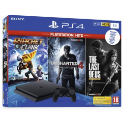 Chollo - Sony PlayStation 4 Slim 1TB + Pack Playstation Hits