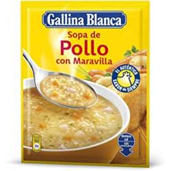 Chollo - Sopa de pollo con maravilla Gallina Blanca 85g