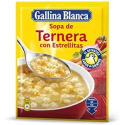 Chollo - Sopa de ternera con estrellitas Gallina Blanca 74g