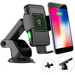Chollo - Soporte Cargador Qi Inalámbrico para Smartphone