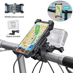 Chollo - Soporte de Bicicleta 2 en 1 Smartphone + Cámara de acción Wiecok