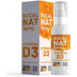 Chollo - QualNat BucalNat Vitamina D3 Spray bucal para el mal aliento 50ml