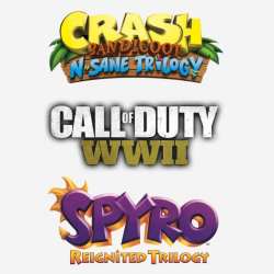 Chollo - Spyro Trilogy + Crash Trilogy + COD WWII + 5 Juegos Sorpresa (Steam)