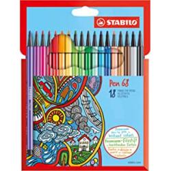 Chollo - STABILO Pen 68 Estuche de 18 rotuladores | 6818-7
