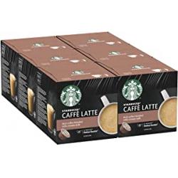 Chollo - Starbucks Caffè Latte NESCAFÉ Dolce Gusto Pack 6x12 cápsulas
