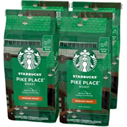 Chollo - Starbucks Pike Place Tostado Medio Café en grano Pack 4x 450g
