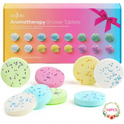 Chollo - Tabletas de ducha efervescentes Anjou para aromaterapia Pack 16x 60g | AJ-PCN083 ES